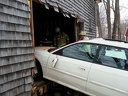 2013-03-06 Vehicle vs. Garage (Main St.)
